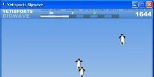 YetiSports 6 - BigWave Ekran Görüntüsü