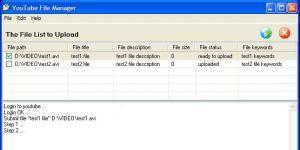 Youtube File Manager Ekran Görüntüsü