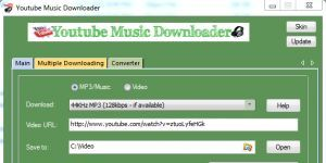 YouTube Music Downloader Ekran G�r�nt�s�