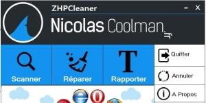 ZHPCleaner Ekran Görüntüsü