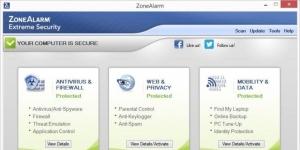 ZoneAlarm Extreme Security Ekran Görüntüsü