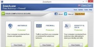 ZoneAlarm Free Antivirus + Firewall Ekran Görüntüsü