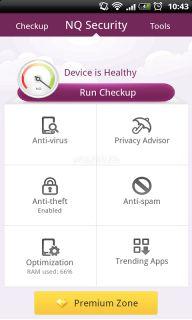 NQ Mobile Security& Antivirus Resimleri