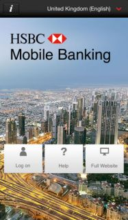HSBC Mobil Bankacılık Resimleri