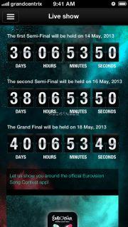 Eurovision Song Contest - The Official App Resimleri