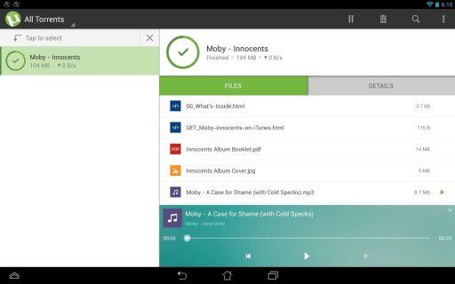 µTorrent - Torrent Downloader Resimleri