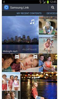 Samsung Link (AllShare Play) Resimleri