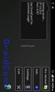 DroidCam Wireless Webcam Resimleri