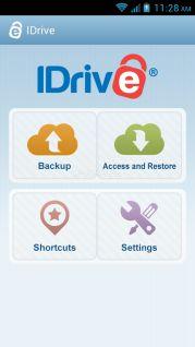 IDrive (Online Backup) Resimleri