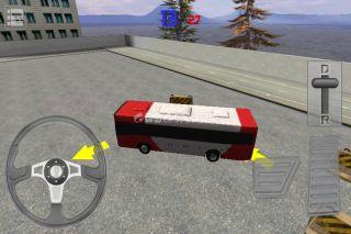 Bus Parking 3D Resimleri