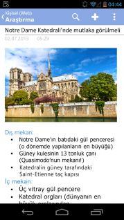 OneNote Mobile Resimleri