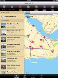 Istanbul Map and Walks Resimleri