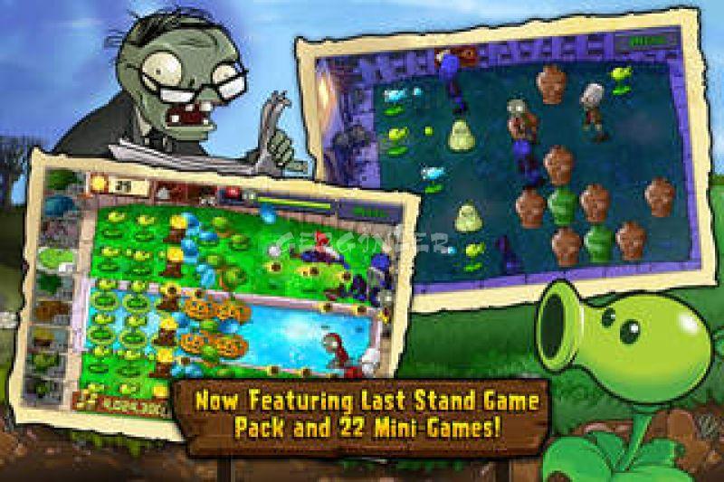 Iphone ve ipad için plants vs zombies ekran görüntüleri