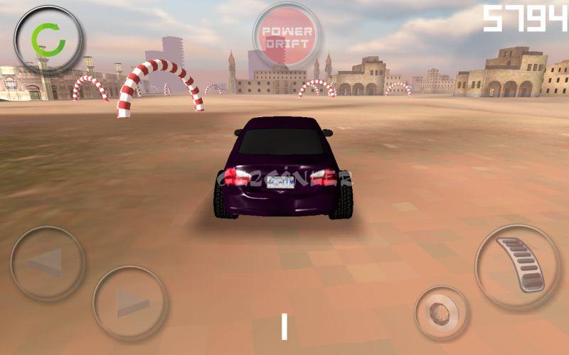 Android için pure drift araba oyunu ekran görüntüleri