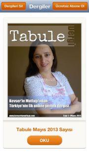 Tabule Dergi Resimleri
