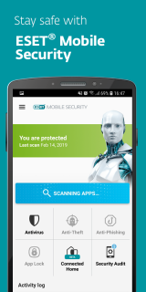 Eset Mobile Security & Antivirus Resimleri