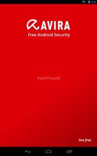 Avira Free Android Security Resimleri