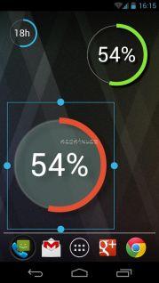 Battery Widget Reborn (BETA) Resimleri