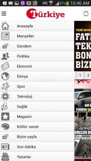 Turkiye Gazetesi Mobil Resimleri