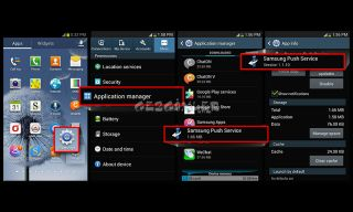 Samsung push service Resimleri