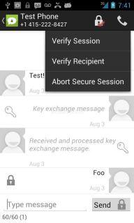 TextSecure - Özel SMS/MMS Resimleri