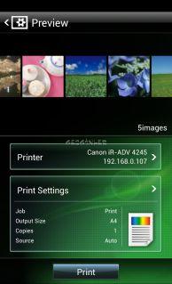Canon Mobile Printing Resimleri