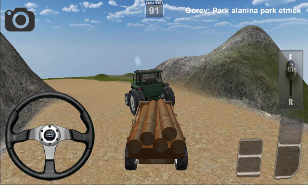 Android için traktör sürme oyunu 3d ekran görüntüleri