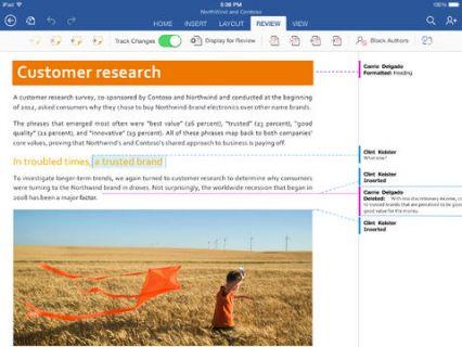 iPad için Microsoft Word Resimleri
