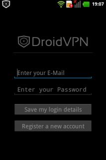 DroidVPN - Android VPN Resimleri