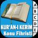 Kur'an-ı Kerim Konu Fihristi Android