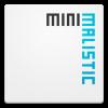 Android Minimalistic Text Resim