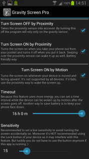 Gravity Screen - On/Off Resimleri