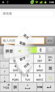 GO Keyboard Resimleri