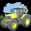Android Traktör Oyunu 3D Resim