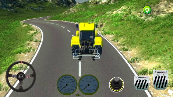 Traktör Oyunu 3D Resimleri