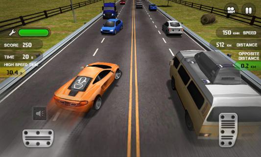 Race The Traffic Resimleri
