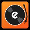 Android edjing DJ mixer turntable Resim