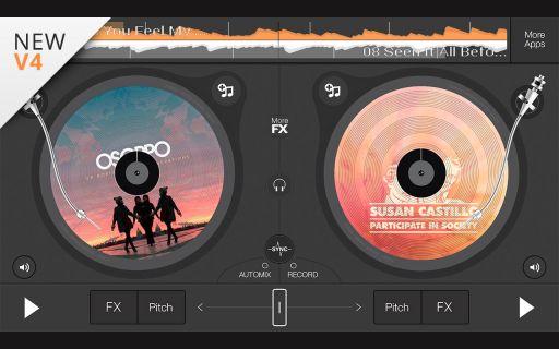 edjing DJ mixer turntable Resimleri