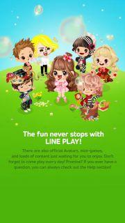 LINE PLAY Resimleri