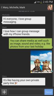 Textra SMS Resimleri