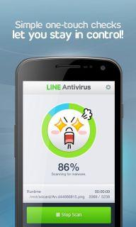 LINE Antivirus Resimleri