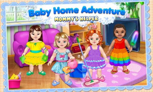 Baby Home Adventure Kids' Game Resimleri