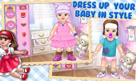 Baby Care & Dress Up Kids Game Resimleri