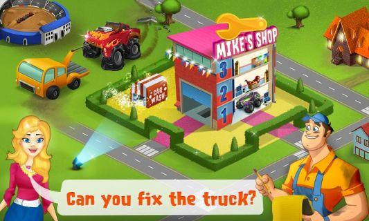 Mechanic Mike - Monster Truck Resimleri