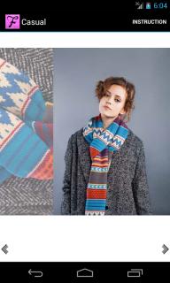 Scarf Fashion Designer Free Resimleri
