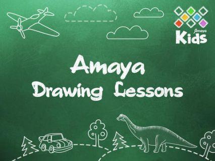 Amaya Çizim dersleri Resimleri