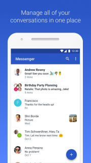 Android Messages Resimleri
