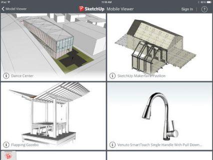 SketchUp Mobile Viewer Resimleri
