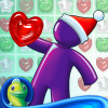 iPhone ve iPad Gummy Drop! Best Free Candy Match 3 Puzzle Game! Resim