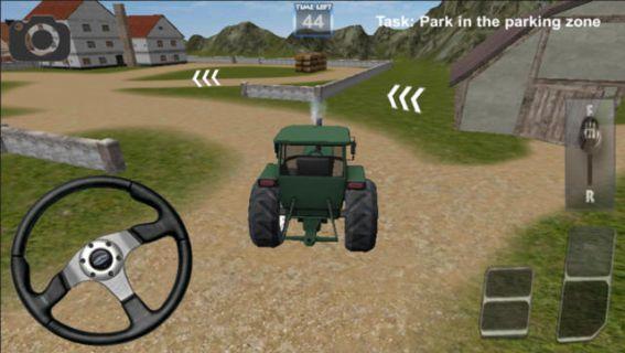 Traktör Sürme Oyunu 3D Resimleri